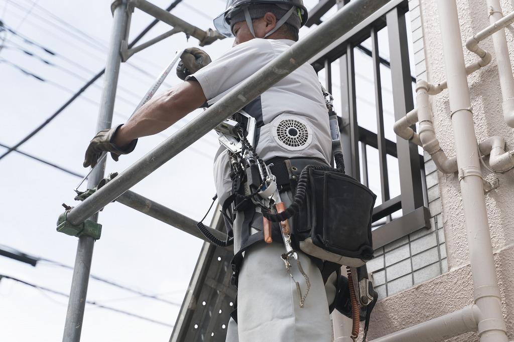 安心・安全な足場工事のことなら株式会社鳶一興業にお任せください!